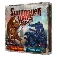 Summoner Wars: Phoenix Elves Vs Tundra Orcs Box Front