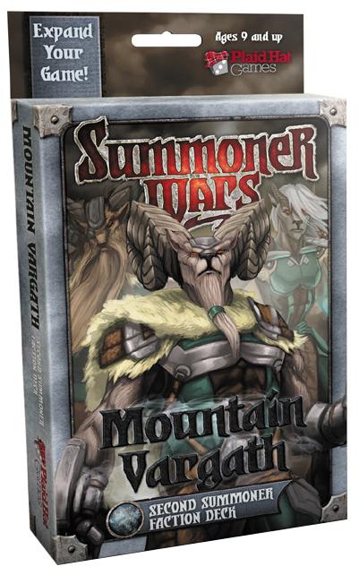Summoner Wars: Mountain Vargath Second Summoner Card Deck Box Front