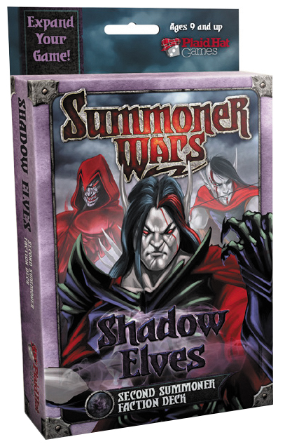 Summoner Wars: Shadow Elves Second Summoner Card Deck Box Front