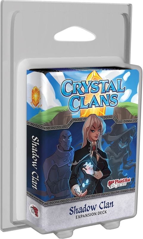Crystal Clans: Shadow Clan Expansion Deck Box Front