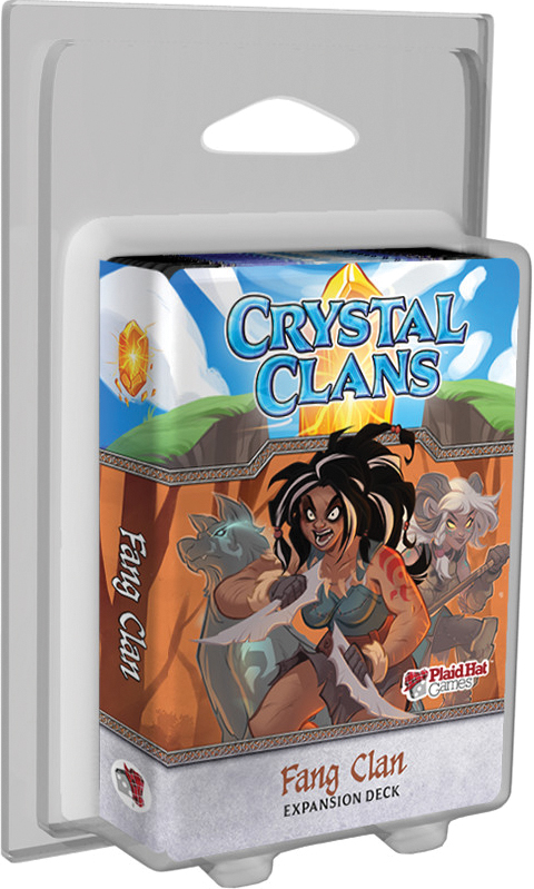 Crystal Clans: Fang Clan Expansion Deck Box Front