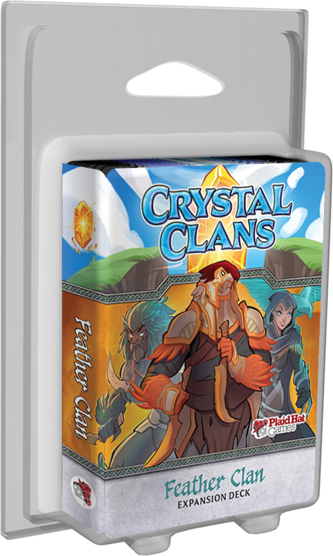 Crystal Clans: Feather Clan Expansion Deck Box Front