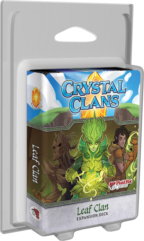 Crystal Clans: Leaf Clan Expansion Deck Box Front