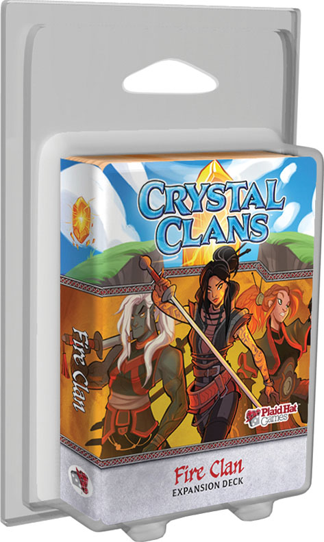 Crystal Clans: Fire Clan Expansion Deck Box Front