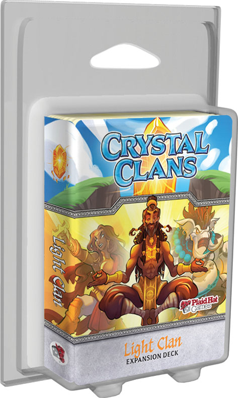 Crystal Clans: Light Clan Expansion Deck Box Front