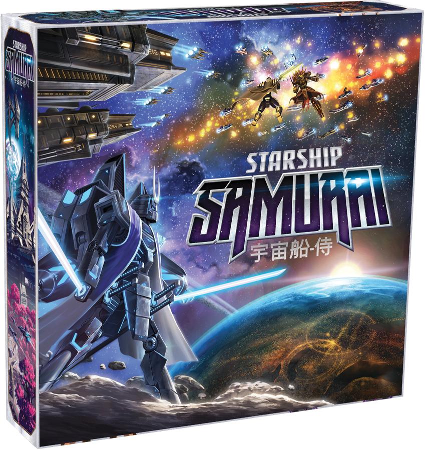 Starship Samurai Box Front