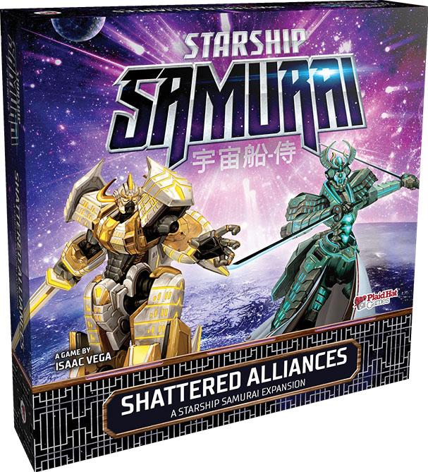 Starship Samurai: Shattered Alliances Expansion Game Box