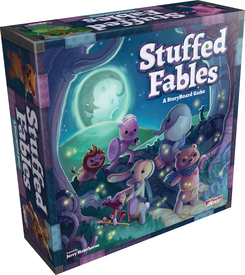 Stuffed Fables Box Front