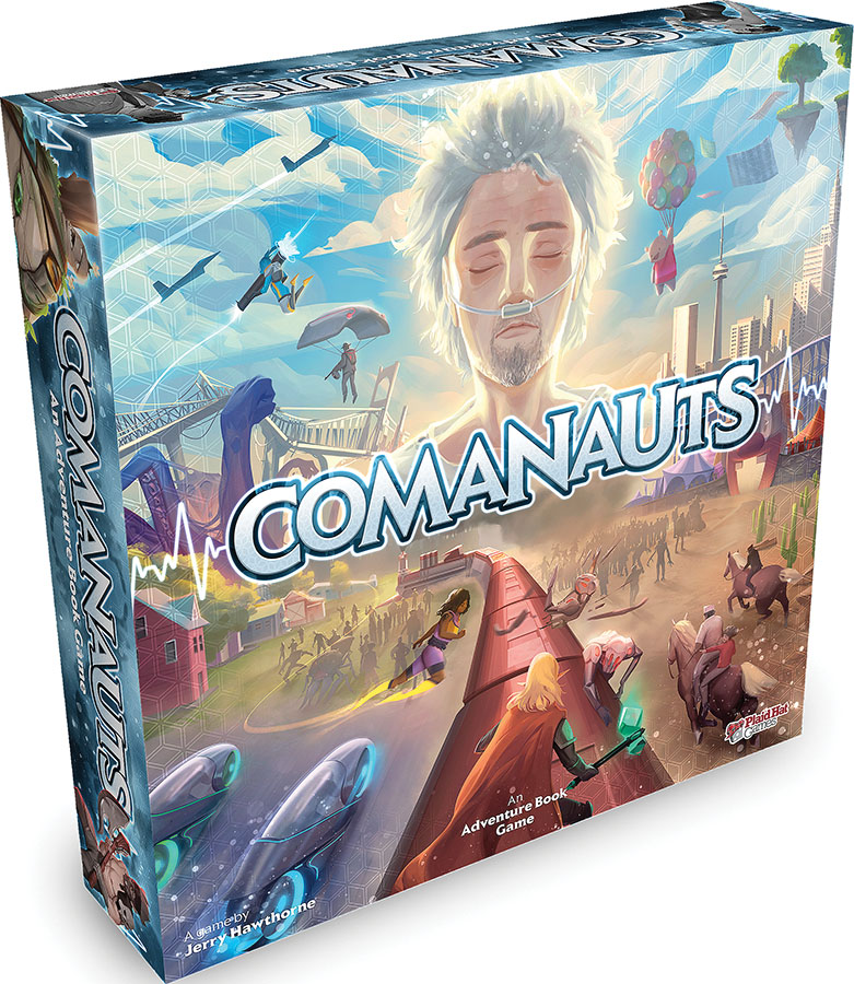 Comanauts Game Box