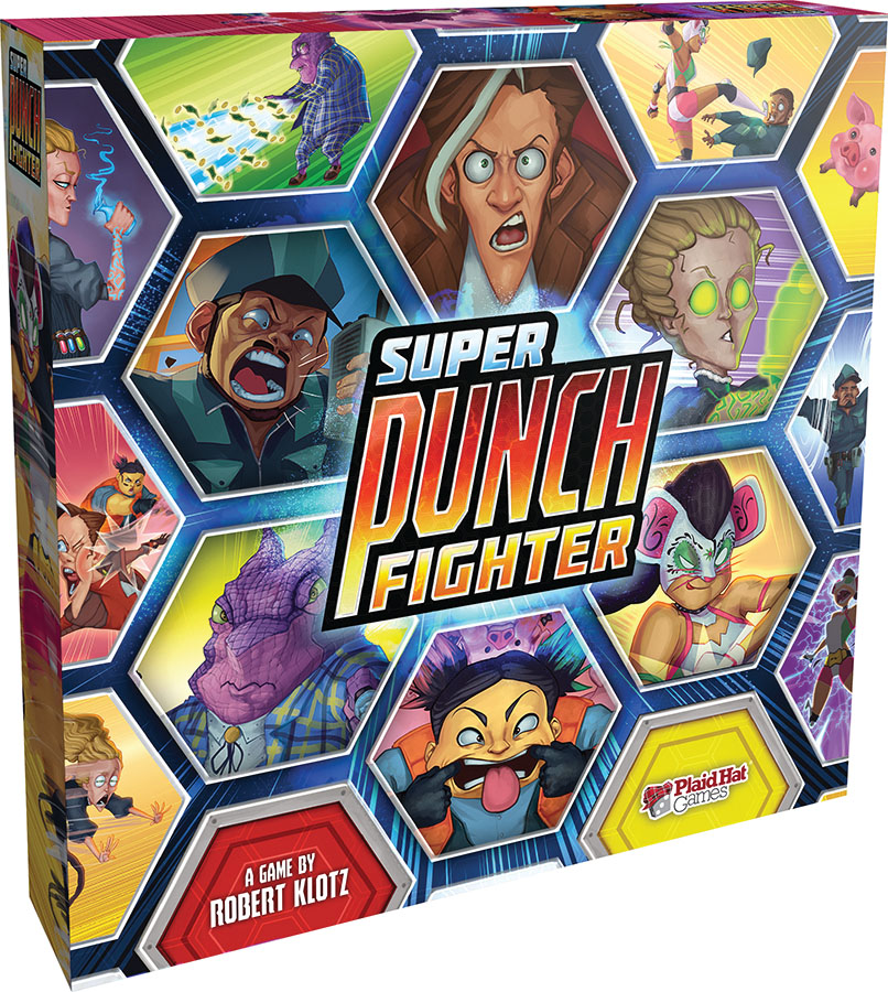 Super Punch Fighter Game Box