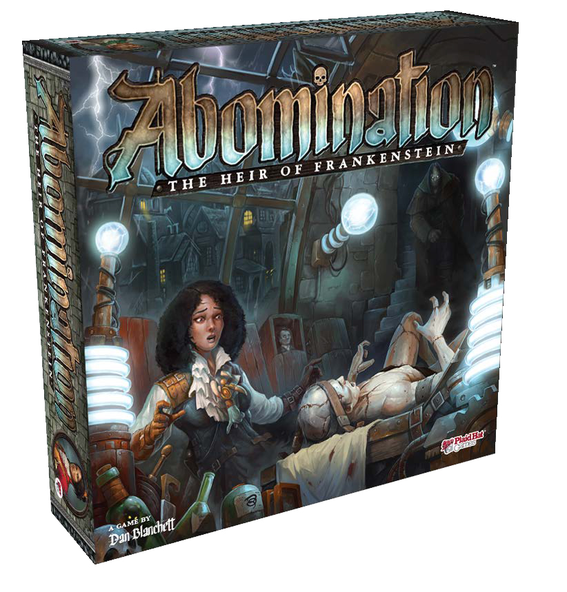 Abomination: The Heir Of Frankenstein Game Box