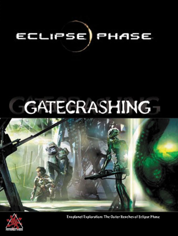 Eclipse Phase Rpg: Gatecrashing Hardcover Box Front