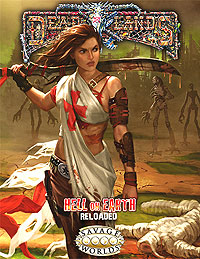 Savage Worlds Rpg: Deadlands Hell On Earth - Reloaded Core Rules Box Front