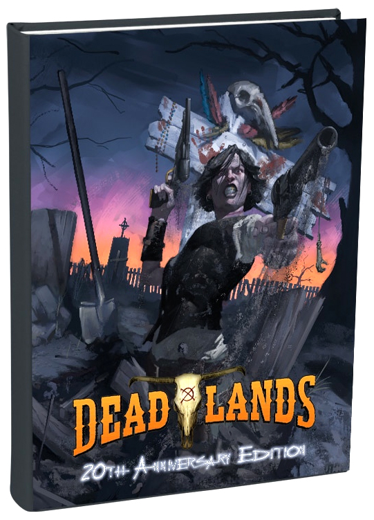 Savage Worlds Rpg: Deadlands - Classic 20th Anniversary Edition Box Front