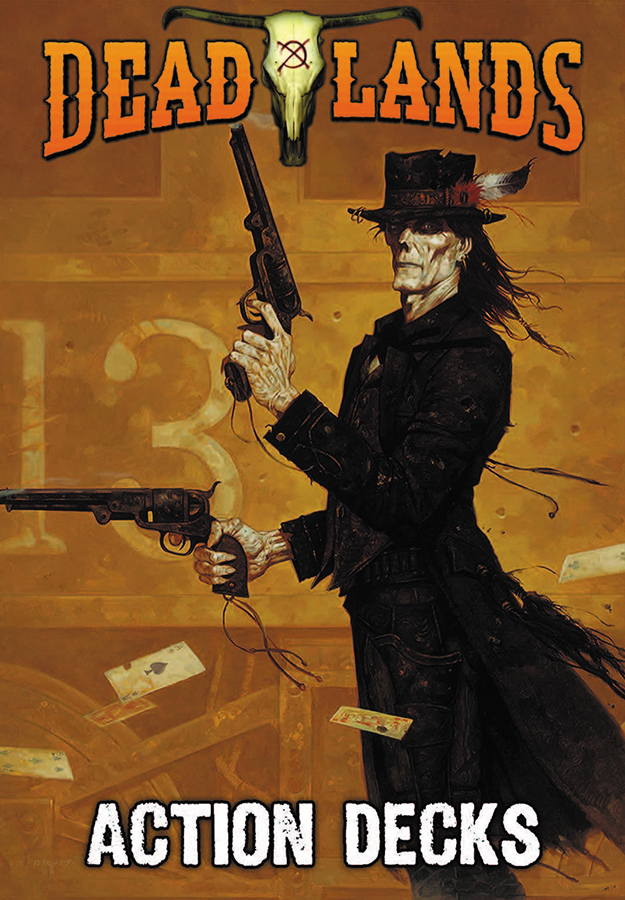 Savage Worlds Rpg: Deadlands - 20th Anniversary Action Decks Box Front