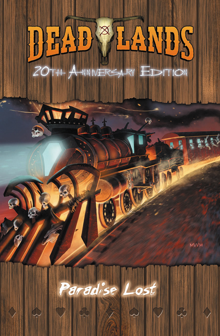 Savage Worlds Rpg: Deadlands - Paradise Lost Adventure: 20th Anniversary Edition Box Front