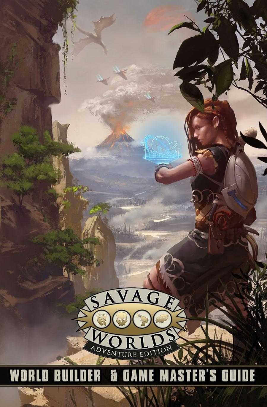 Savage Worlds Rpg: World Builder & Game Master`s Guide Game Box