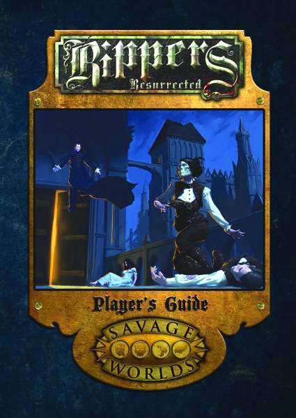Savage Worlds Rpg: Rippers Resurrected - Players Guide Limited Edition (hardcover) Box Front