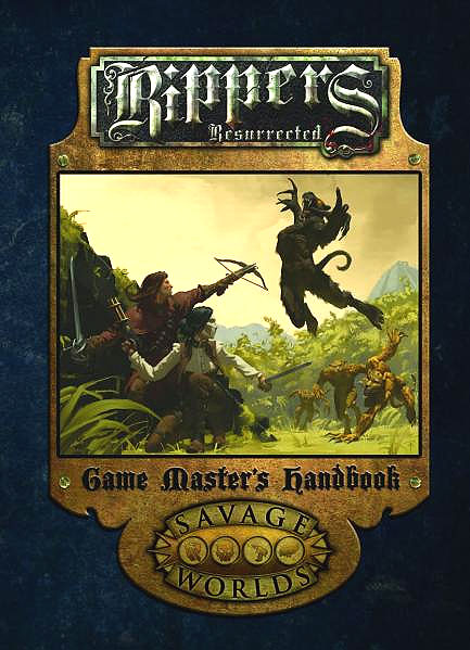 Savage Worlds Rpg: Rippers Resurrected - Game Masters Handbook Limited Edition (hardcover) Box Front