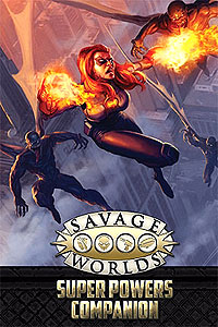 Savage Worlds Rpg: Super Powers Companion Limited Edition (second Edition) Box Front