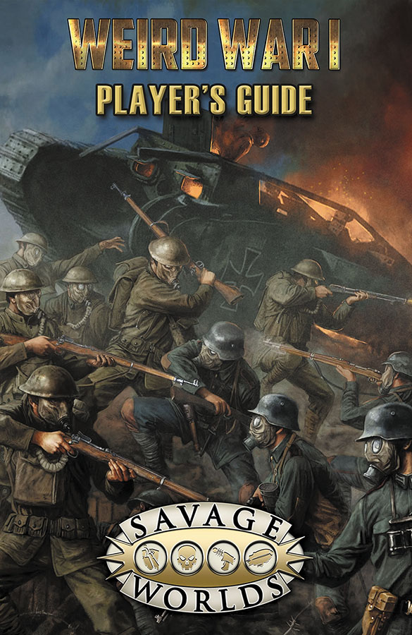 Savage Worlds Rpg: Weird War I Players Guide Limited Edition (hardback) Box Front