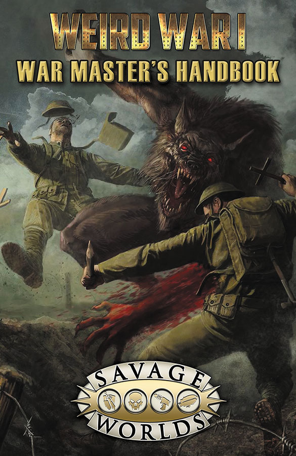 Savage Worlds Rpg: Weird War I War Masters Handbook Limited Edition (hardback) Box Front