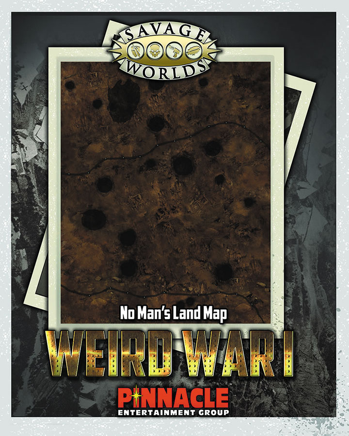Savage Worlds Rpg: Weird War I Map Set: No Mans Land/village Box Front