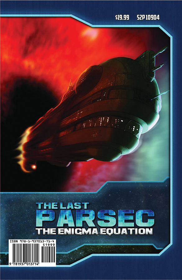Savage Worlds Rpg: The Last Parsec: Gm Screen And Enigma Equation Adventure Box Front