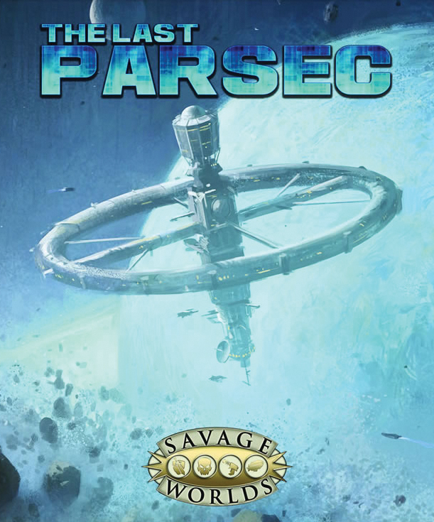 Savage Worlds Rpg: The Last Parsec Collectors Box Set Box Front