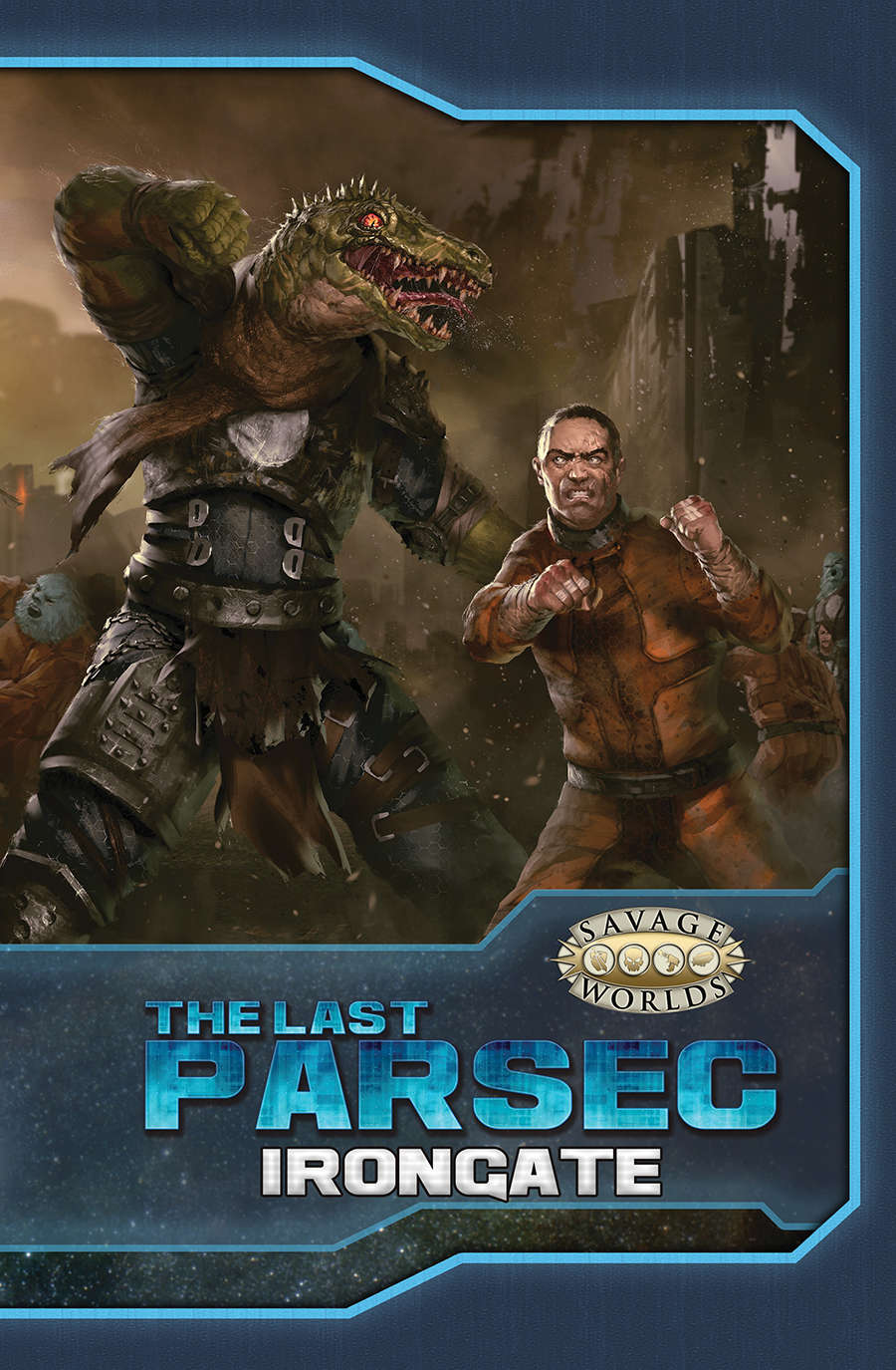 Savage Worlds: The Last Parsec: Irongate (softcover) Game Box
