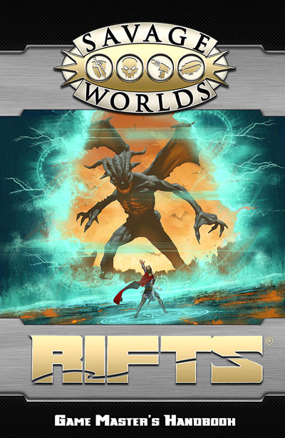 Savage Worlds Rpg: Rifts - Game Masters Handbook Limited Edition (hardcover) Box Front