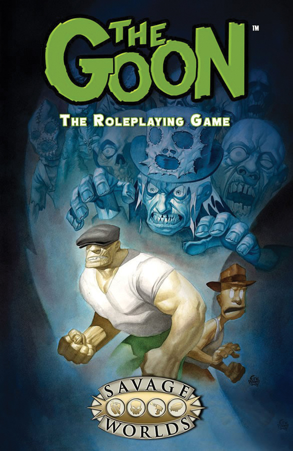 Savage Worlds Rpg: The Goon Box Front