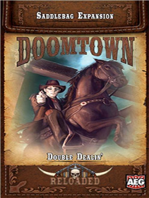 Doomtown: Ecg Expansion Saddlebag 2 - Double Dealin` Box Front