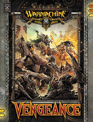 Warmachine: Vengeance (hardcover) Box Front