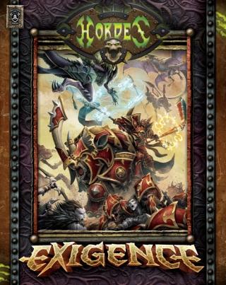 Hordes: Exigence (hardcover) Box Front