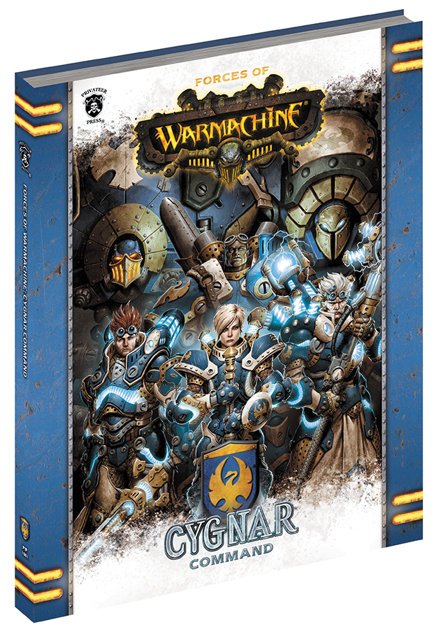 Warmachine: Forces Of Warmachine - Cygnar Command (hardcover) Box Front