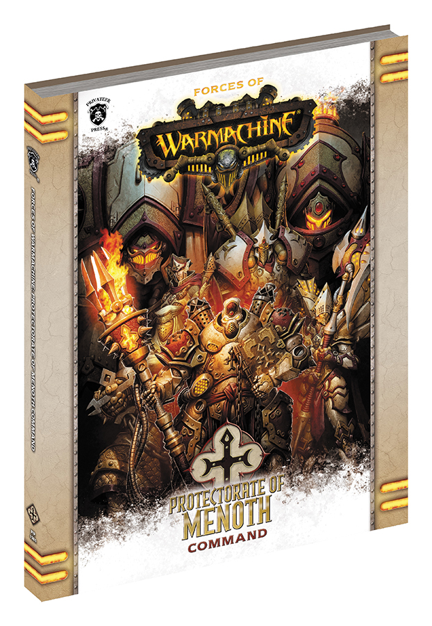 Warmachine: Forces Of Warmachine - The Protectorate Of Menoth Command (softcover) Box Front