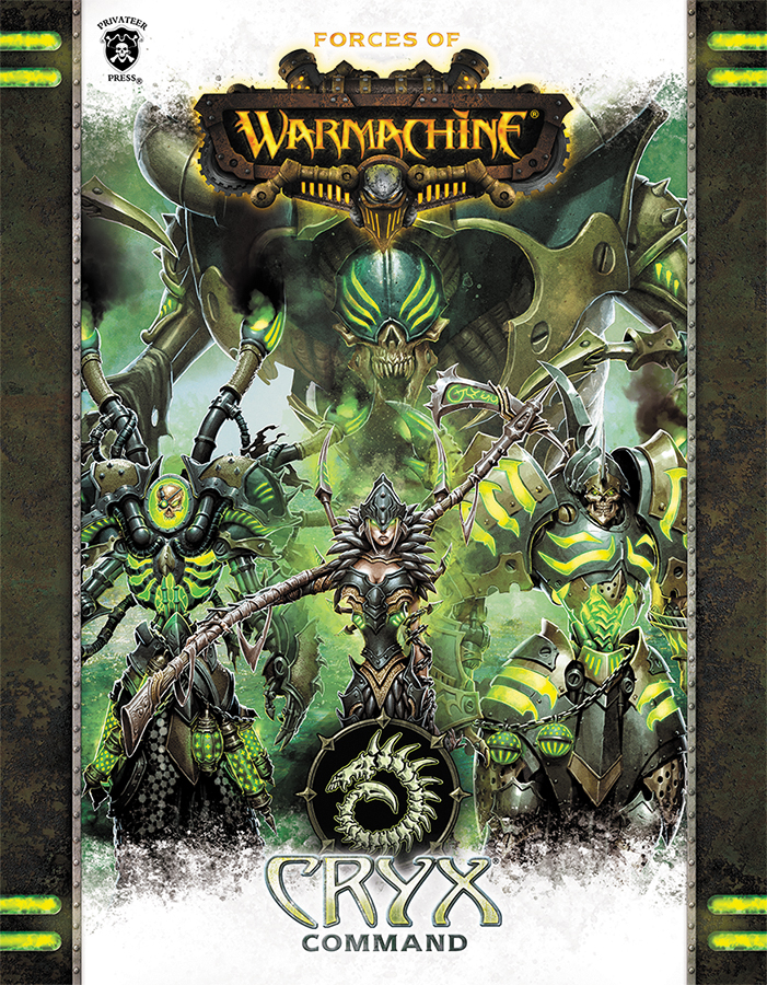 Warmachine: Forces Of Warmachine - Cryx Command (hardcover) Box Front