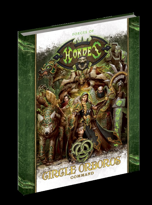Hordes: Forces Of Hordes - Circle Orboros Command (softcover) Box Front