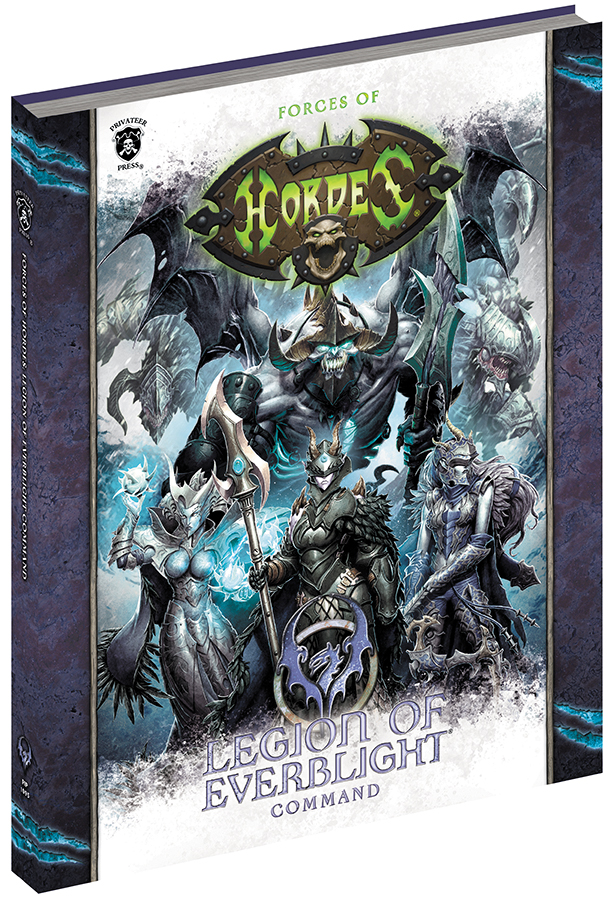 Hordes: Forces Of Hordes - Legion Of Everblight Command (softcover) Box Front