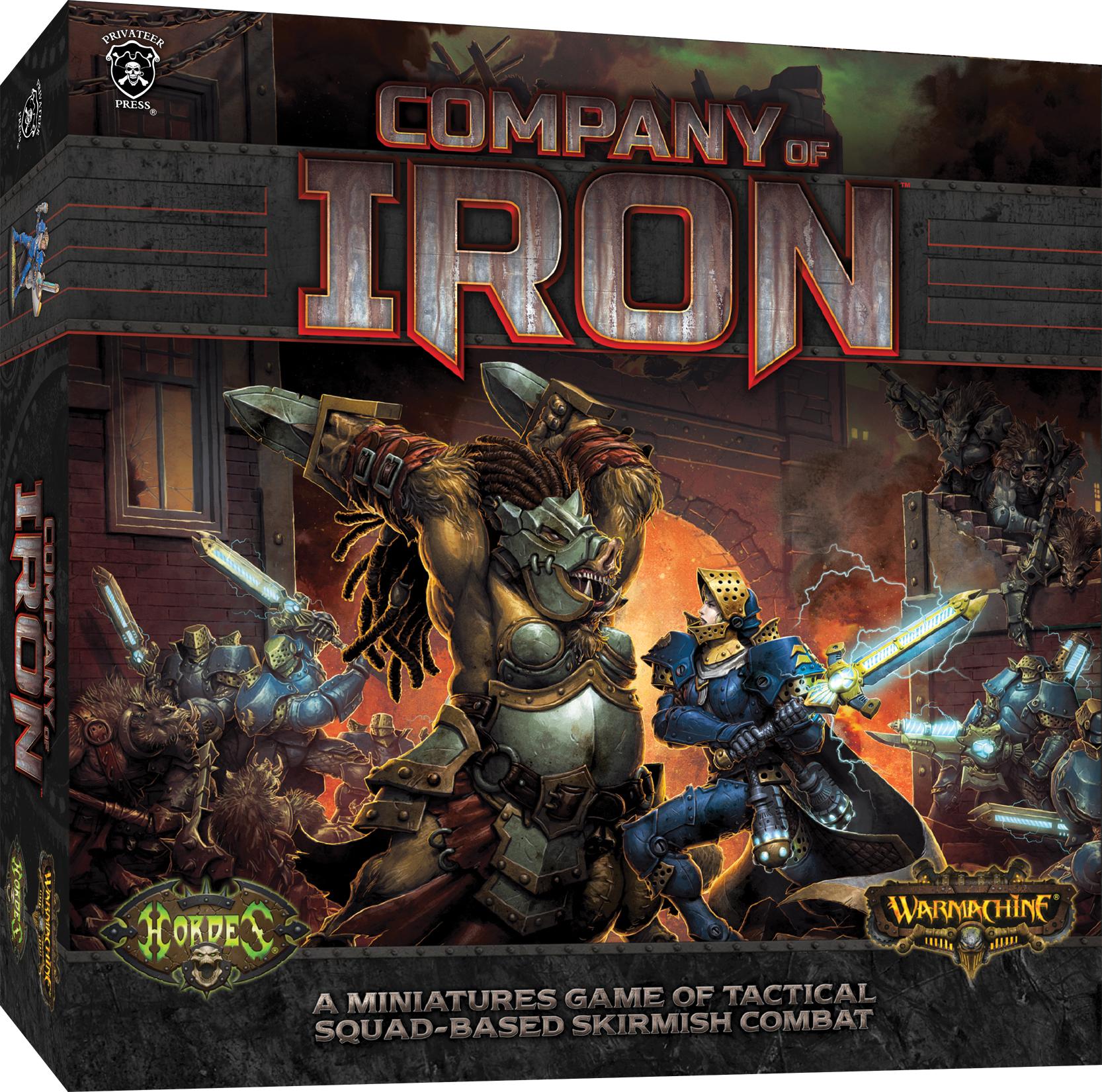 Company Of Iron Box Front