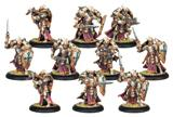 Warmachine: The Protectorate Of Menoth Exemplar Errants Unit (plastic) Box Front