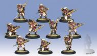 Warmachine: The Protectorate Of Menoth Deliverers Unit (10)(white Metal) Box Front