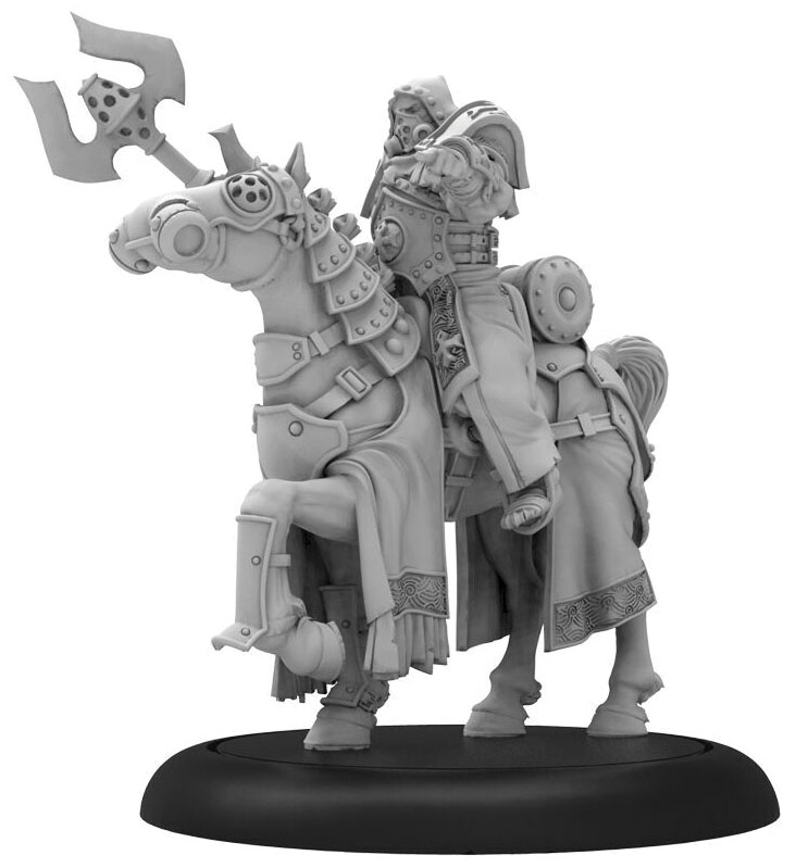 Warmachine: The Protectorate Of Menoth Hand Of Silence Solo (resin And White Metal) Game Box