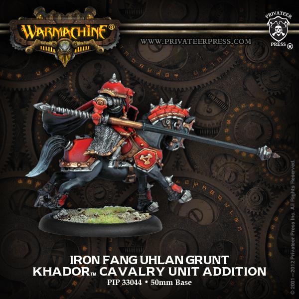 Warmachine: Khador Kommander Orsus Zoktavir Epic Warcaster (white Metal) Box Front