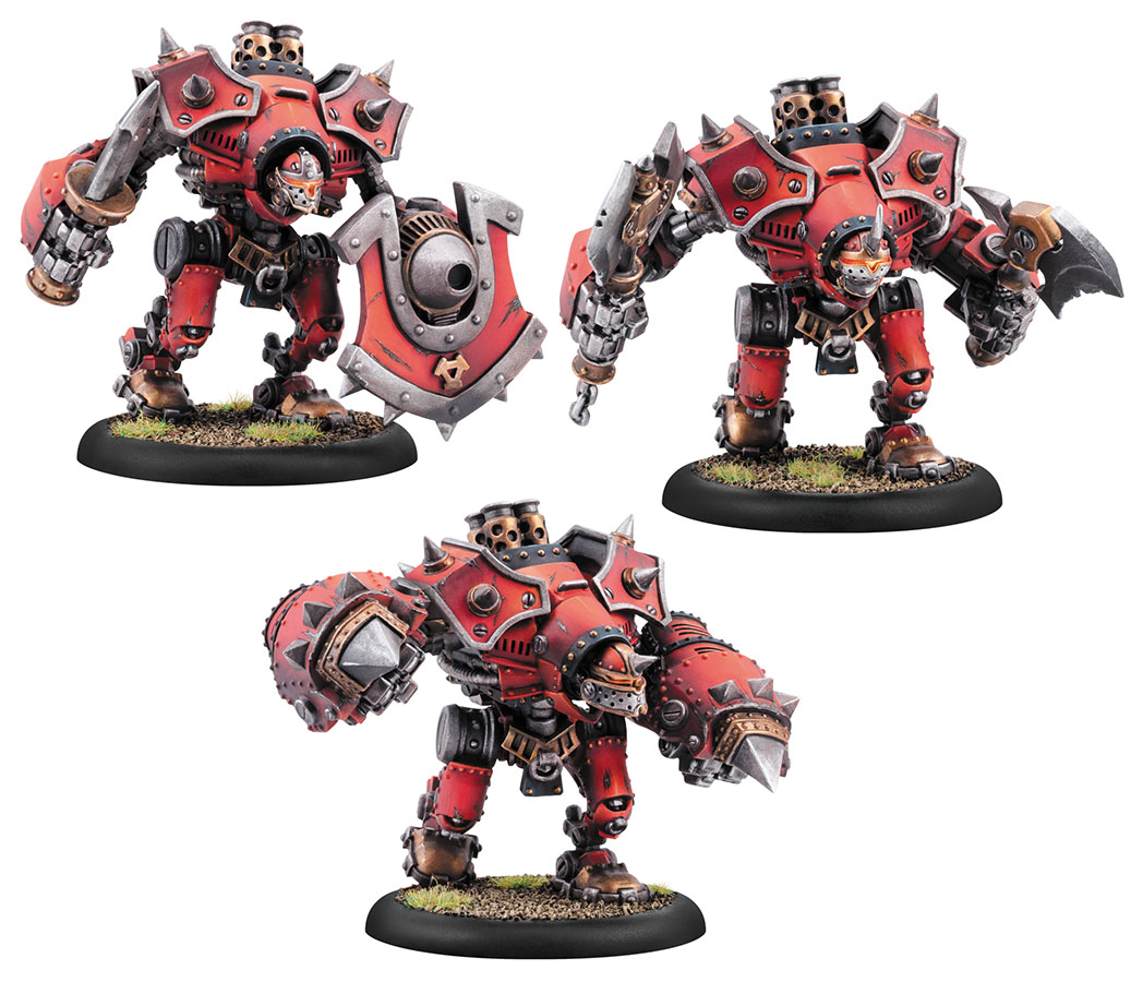 Warmachine: Khador Berserker/mad Dog/rager Heavy Warjack (plastic Kit) Box Front