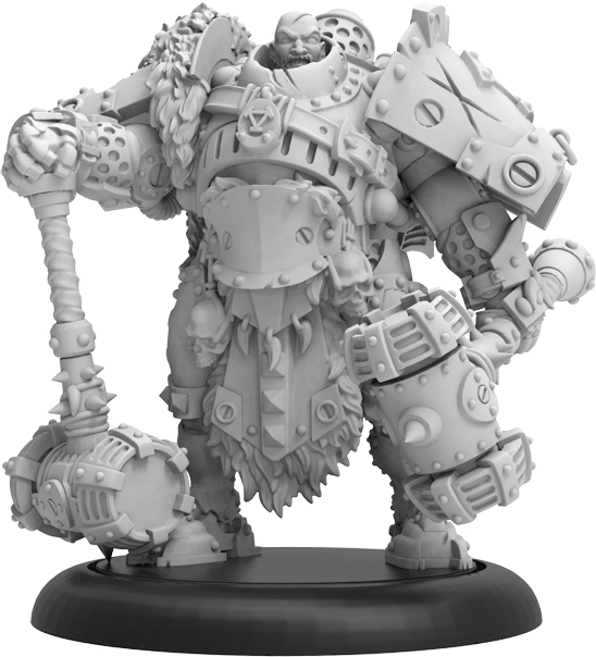 Warmachine: Khador Sergeant Dragons Dragadovich Command Attachment (resin And White Metal) Box Front