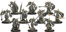 Warmachine: Cryx Bane Knights Unit (10)(white Metal) Box Front