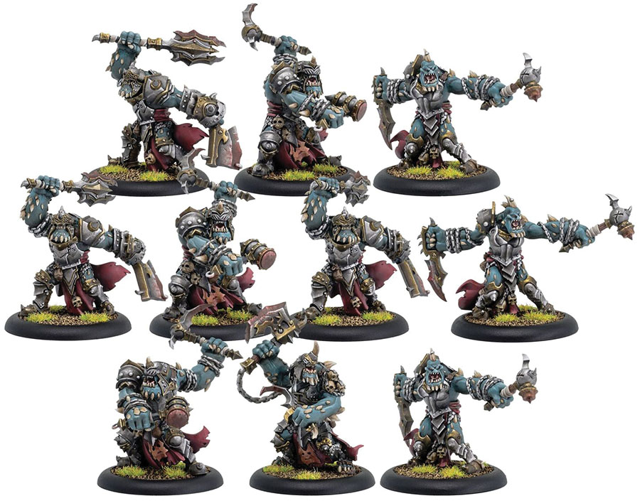 Warmachine: Cryx Bloodgorgers Unit (resin And White Metal) Game Box