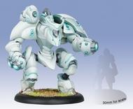 Warmachine: Retribution Of Scyrah Hypnos Character Heavy Myrmidon (upgrade Kit) Box Front